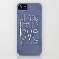 All you need is love or a good book iPhone & iPod Case by M?nika Strigel   Society6