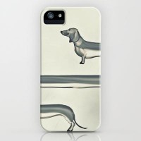 SAUSAGE DOG iPhone & iPod Case by M?nika Strigel | Society6