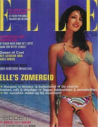 Theresa Moore : ELLE Cover | POPSUGAR Social