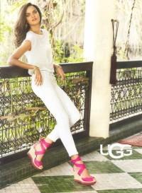 Model Barbara Fialho in ugg | POPSUGAR Social