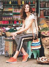 Supermodel Barbara Fialho For UGG | POPSUGAR Social