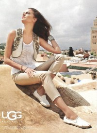 Brazilian Model Barbara Fialho For UGG | POPSUGAR Social