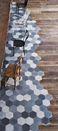 — Gorgeous tile is like art underneath your feet....