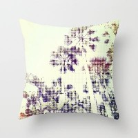 Palm Trees Throw Pillow by pascal | Society6