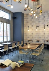 McNally Jackson Cafe Design by Front Studio