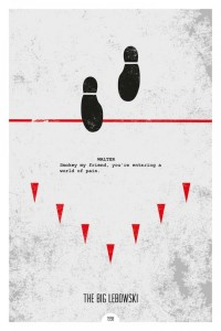 Minimalist Movie Posters with Iconic Quotes by DopePrints | 123 Inspiration