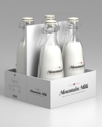 Student Spotlight: Mountain Milk - The Dieline -