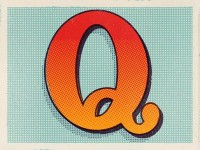 Type Fight Q by Justin Mezzell
