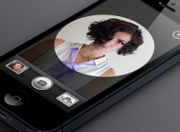 iPhone 5 Camera App UI - 365psd