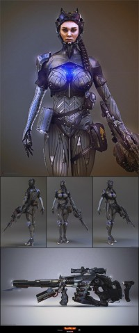 New Character gallery image by Christopher Parnian - 3DTotal Forums