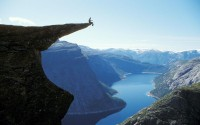 Traversing Trolltunga, Norway