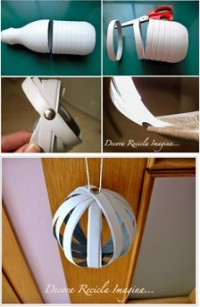 DIY Plastic Bottle Round Ornament DIY Projects | UsefulDIY.com