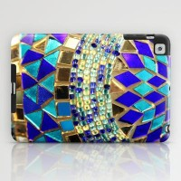 mosaic and beads iPad Case by Sylvia Cook Photography | Society6
