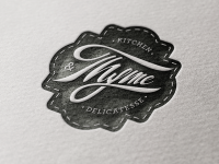 Thyme Dribbble by peter molnaar