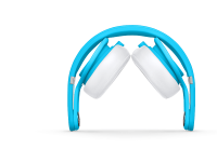 DJ Headphones | Beats Mixr Headphones are Lightweight and Powerful - Neon Blue