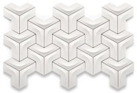 Geometric Pattern Tiles by Kutahya - wall puzzle