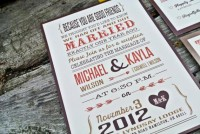 Wedding Reception Invitation Rustic Country by WideEyesDesign