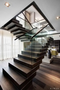 Stunning Penthouse Apartment by Keith Interior Design & M2K Architecture | Interior Design and Architecture