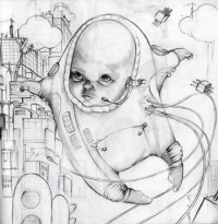 Space baby by ~Artjunk