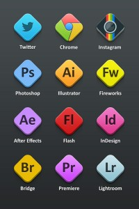 Adobe Icons (PSD) - Designer First