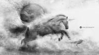 Desktopography - Exhibition 2012 - Blind horse