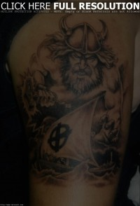 Real Viking Arm Tattoos Design