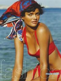 Barbara Fialho In Marie Claire magazine