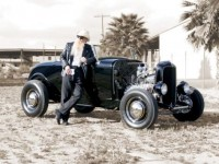 Billy F. Gibbons Hot Rod Photographic Print by David Perry at AllPosters.com