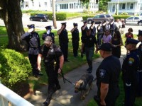 Photo of K-9 Kaiser on his 'final journey' [Photo] | MyFOX8.com