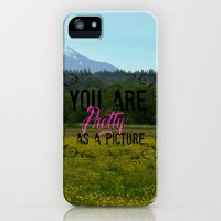 Pretty as a Picture iPhone & iPod Case by RDelean | Society6