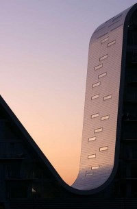 AECCafe.com - ArchShowcase - The Wave in Vejle, Denmark by Henning Larsen Architects