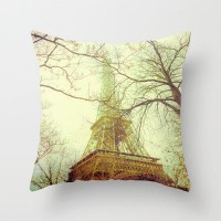 Eiffel Tower Throw Pillow by pascal | Society6