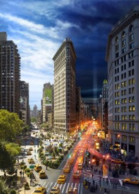 NYC's Day and Night Combined in Stephen Wilkes Photography | DesignFloat Blog