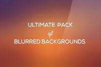 Free Ultimate Blurred Background Pack (PSD) - Designer First