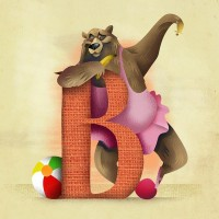 B is for... Art Print by Dave Mottram's Store   Society6