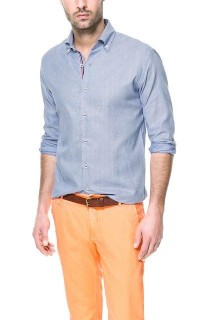 Fancy - STRIPED SHIRT - Slim fit - Shirts - Man - ZARA United States