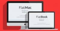 iMac & Macbook Psd Flat Mockup | Psd Mock Up Templates | Pixeden