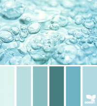 Design Seeds® | for all who ? color | bubbling teal