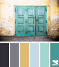 Design Seeds® | for all who ? color | a door hues