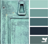 Design Seeds® | for all who ? color | teal tones
