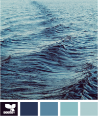 Design Seeds® | for all who ? color | ocean blues