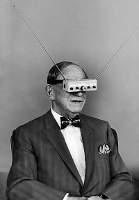 Eisenstaedt, Alfred (1898-1989) - 1963 Hugo Gernsback | Flickr - Photo Sharing!