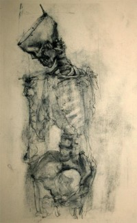 Charcoal and Bone VIII by ~napoleoman