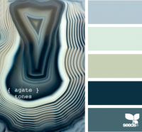 Design Seeds® | for all who ? color | agate tones