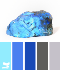 Design Seeds® | for all who ? color | more mineral blues