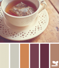 Design Seeds® | for all who ? color | tea tones