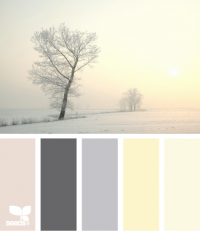 Design Seeds® | for all who ? color | winter tints