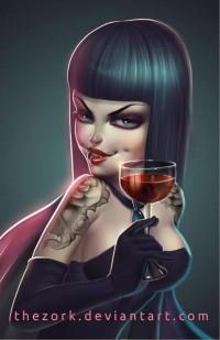Vampire girl by *thezork