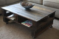 Creative and Artistic Pallet Coffee Table | Pallet Furniture DIY