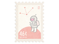 50 Beautiful Postage Stamp Designs | inspirationfeed.com